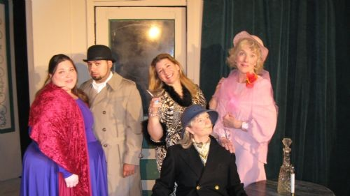 THE FARNDALE AVENUE HOUSING ESTATE TOWNSWOMEN'S GUILD DRAMATIC SOCIETY MURDER MYSTERY