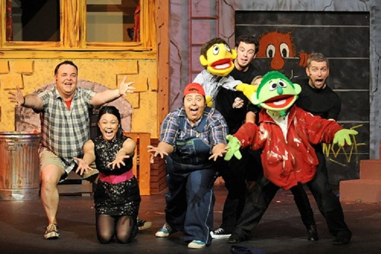 Is the music in Avenue Q live or prerecorded?