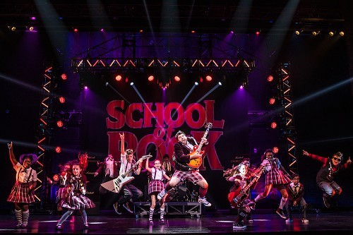 SCHOOL OF ROCK- The Musical