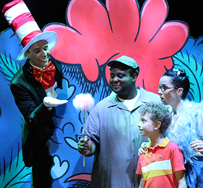 Major Attaway in Seussical