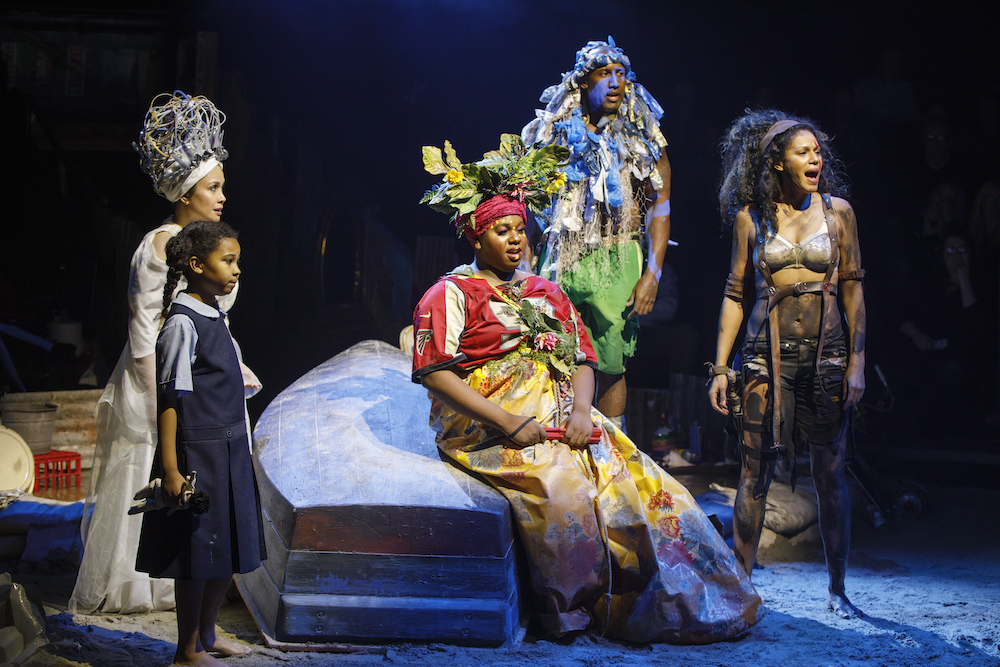 FULL TOUR ROUTE, CASTING AND ONSTAGE SEATING ANNOUNCED FOR NORTH AMERICAN TOUR OFTHE TONY® AWARD WINNING REVIVAL OF ONCE ON THIS ISLAND