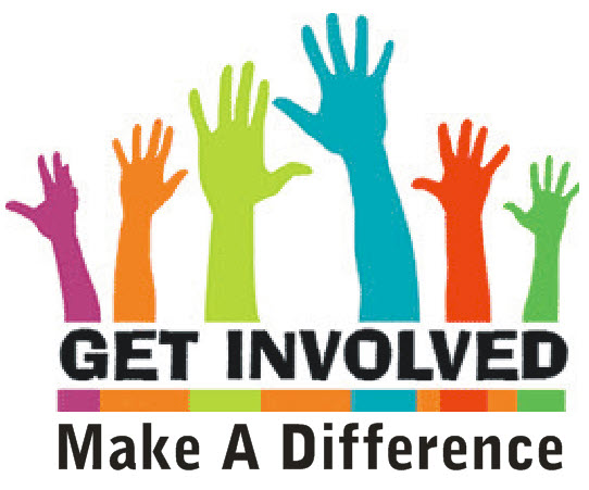 GET INVOLVED! MAKE A DIFFERENCE!